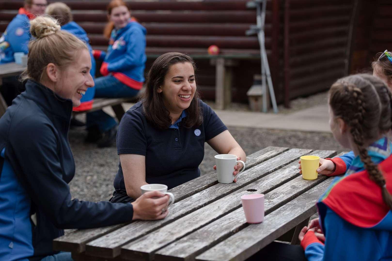 GirlGuiding at Blair Activity Center - July 2021 - © Julie Broadfoot - www.juliebee.co.uk