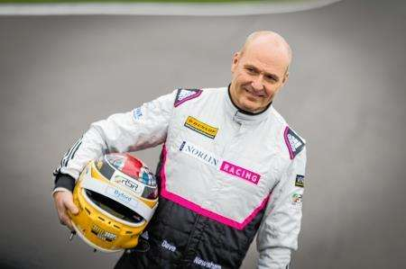 Dave Newsham returns to BTCC action at Croft tomorrow. Picture: Jay Adair.
