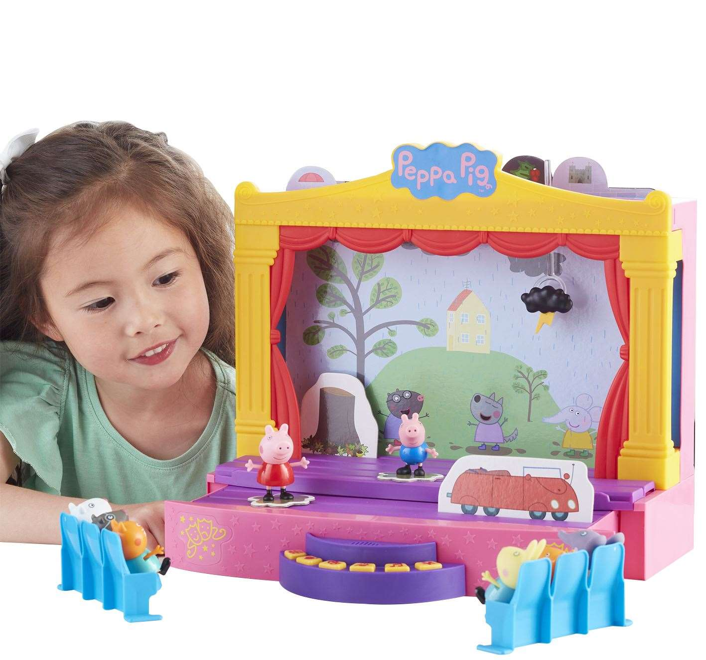Peppa Pig Peppa's Stage Playset (Character Options), £39.99