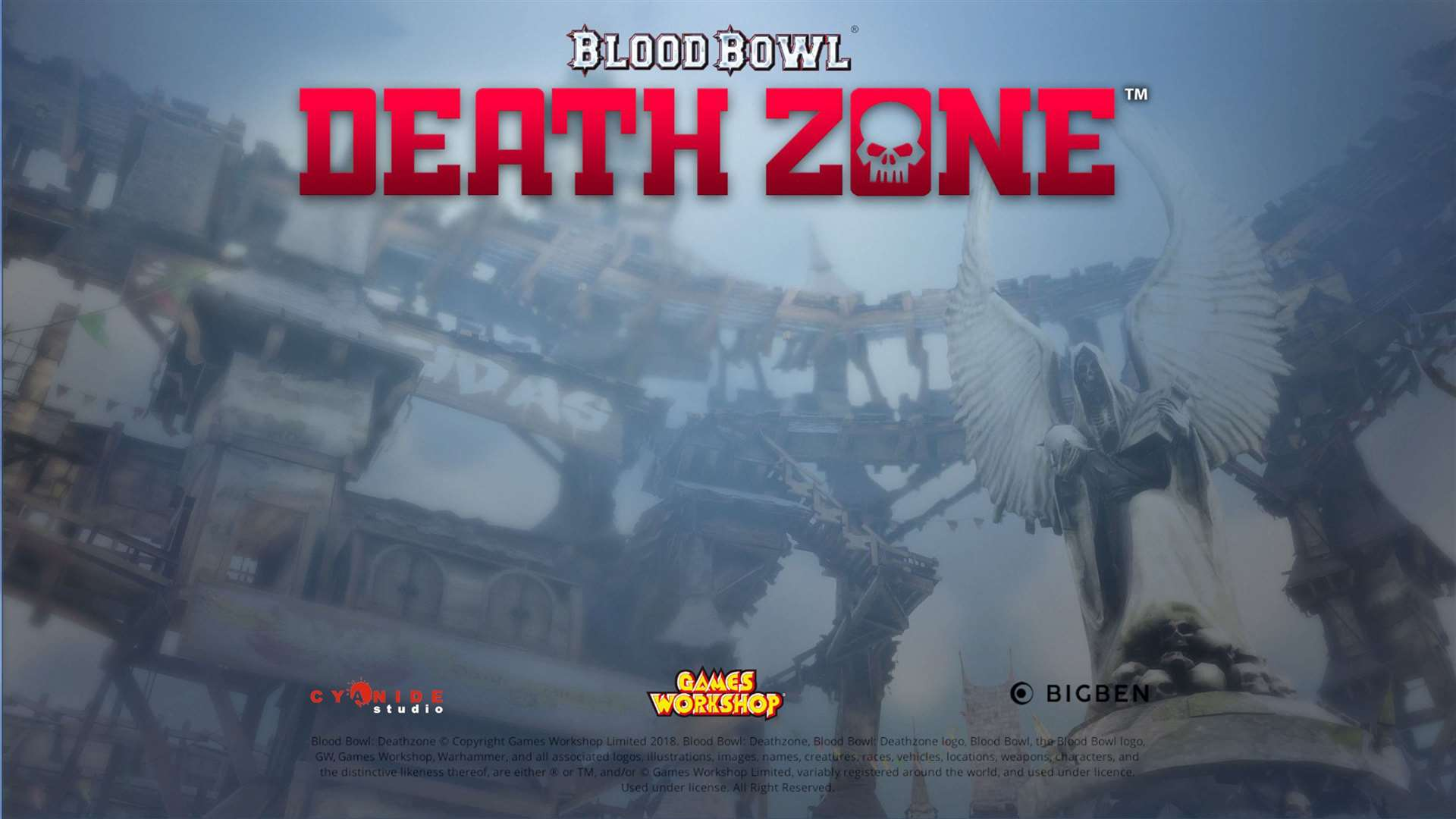 Blood Bowl: Death Zone. Picture: Handout/PA
