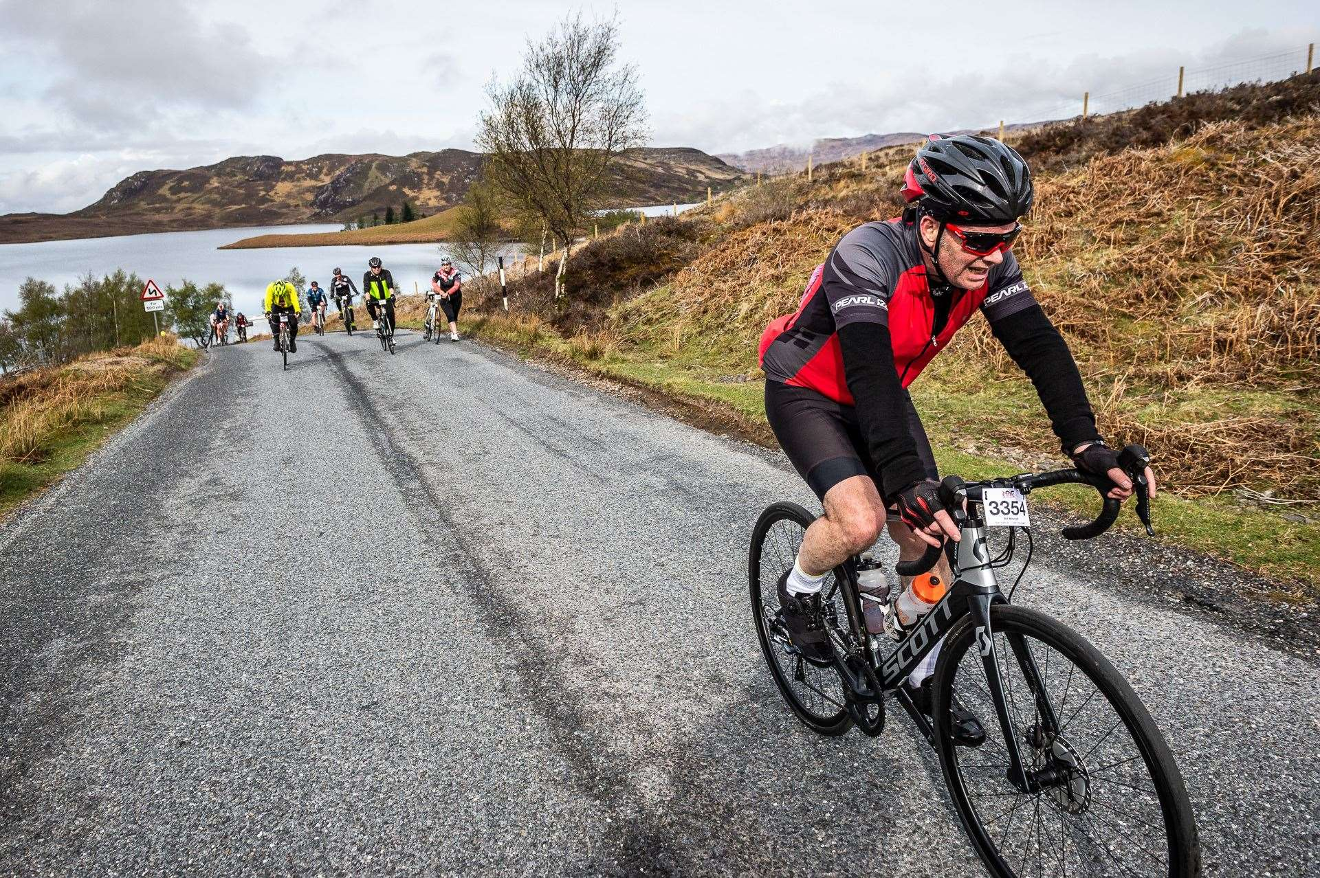 The Loch Ness Stage typically attracts thousands of riders to the Highlands.