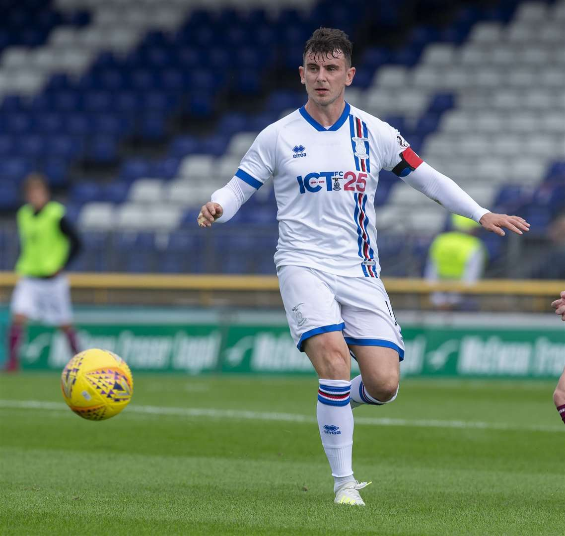 Inverness Caledonian Thistle vice-captain Aaron Doran believes their squad is much stronger compared to last season. Picture: Ken Macpherson