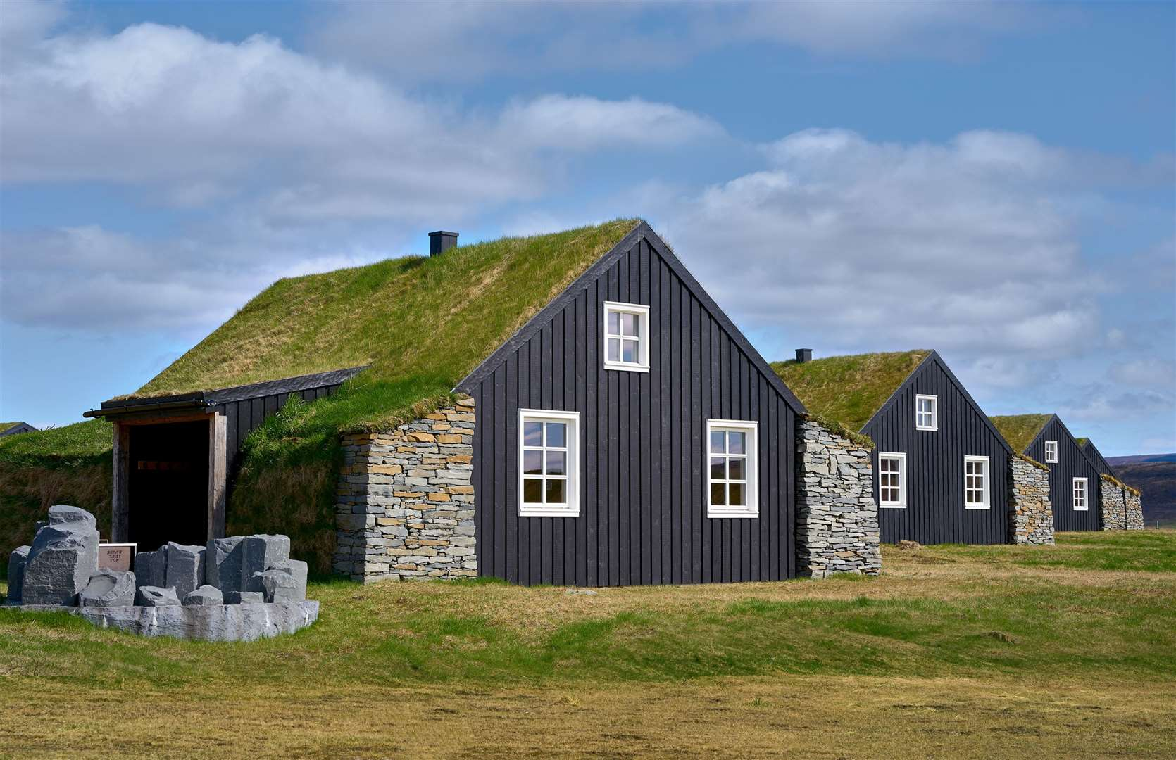 Torfhus Retreat in Iceland. Picture: PA Photo/Torfhus