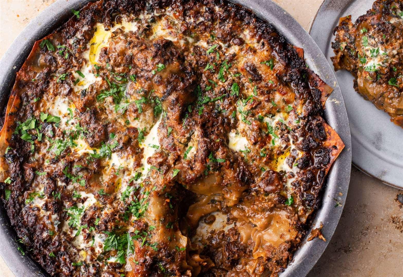 Recipe of the week: Spicy mushroom lasagne