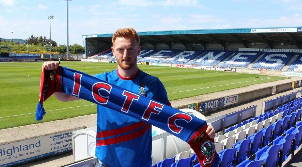 Midfielder David Carson became ICT's second arrival of the summer after James Keatings agreed to sign from Hamilton.