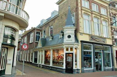 At just 1.2metres wide, this Leeuwarden chocolate shop is the smallest shop in the whole of the Netherlands