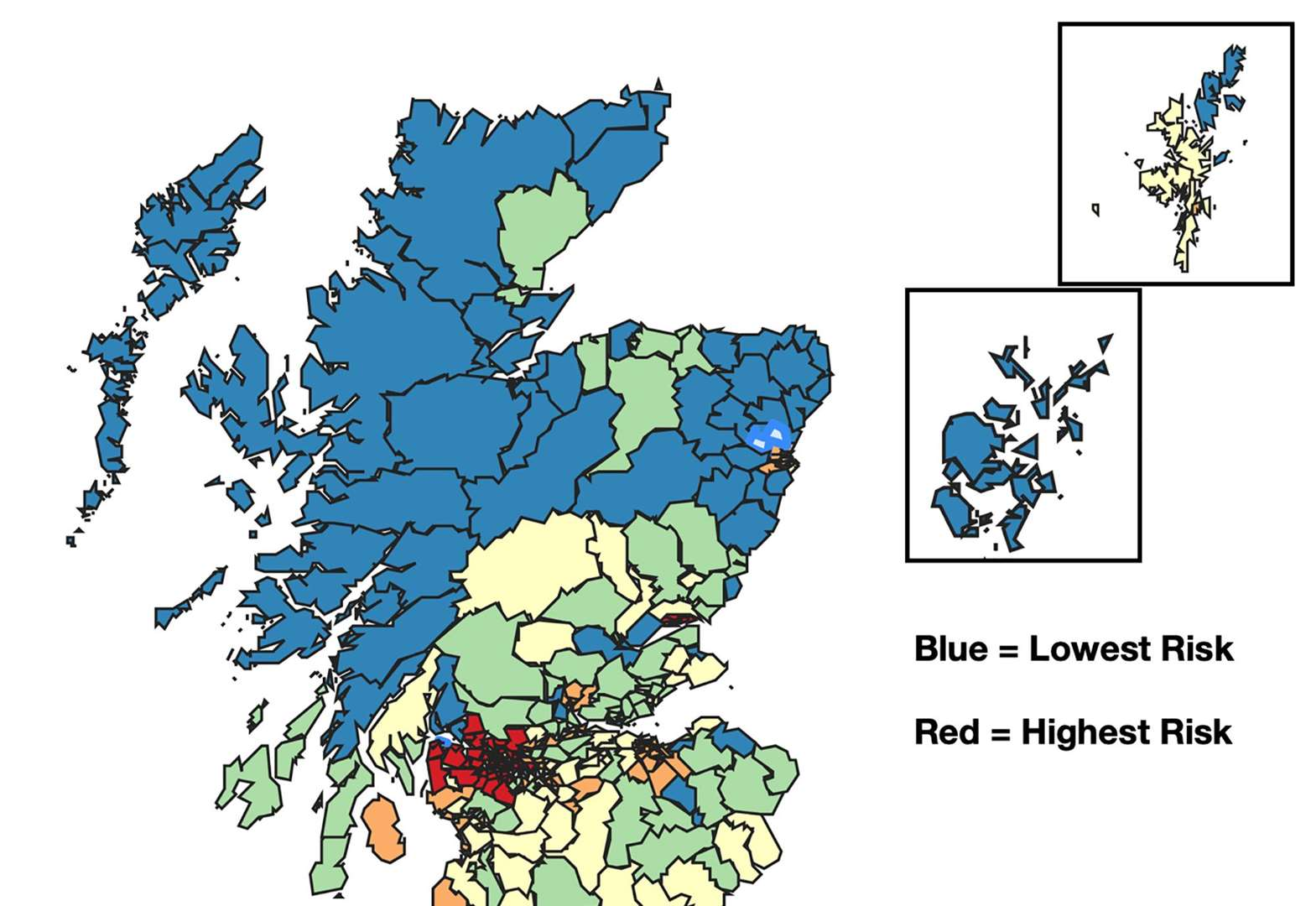 New Interactive Map Showing Coronavirus Risk To Highland Communities Could Help Phase Lifting Of Lockdown