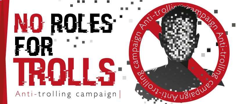 This newspaper's No Role For Trolls aims to help raise awareness on the issue and the effects of online trolling and abuse.