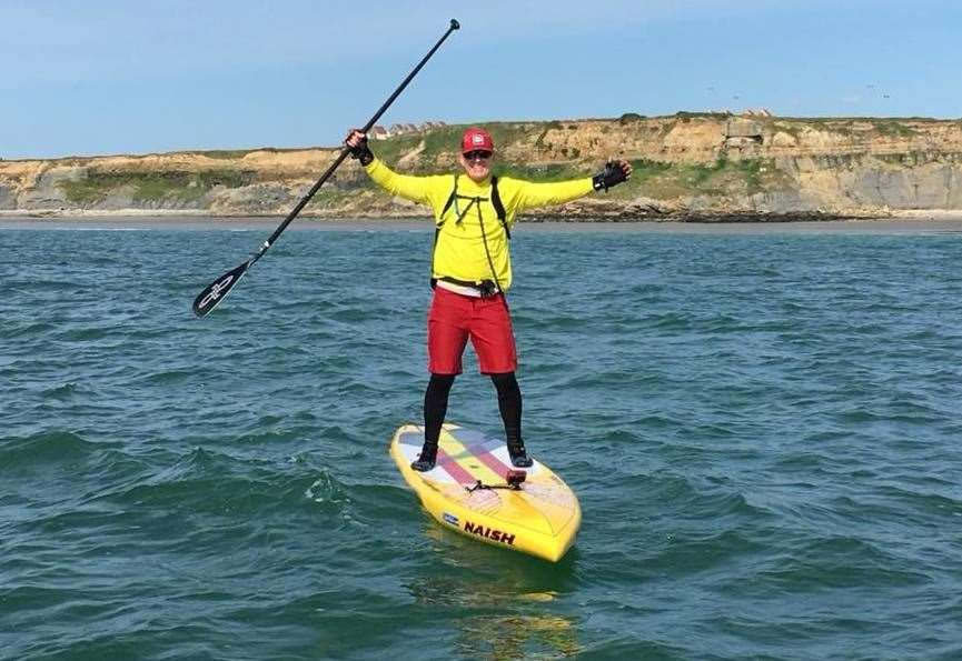 Great Glen paddle challenge for good cause