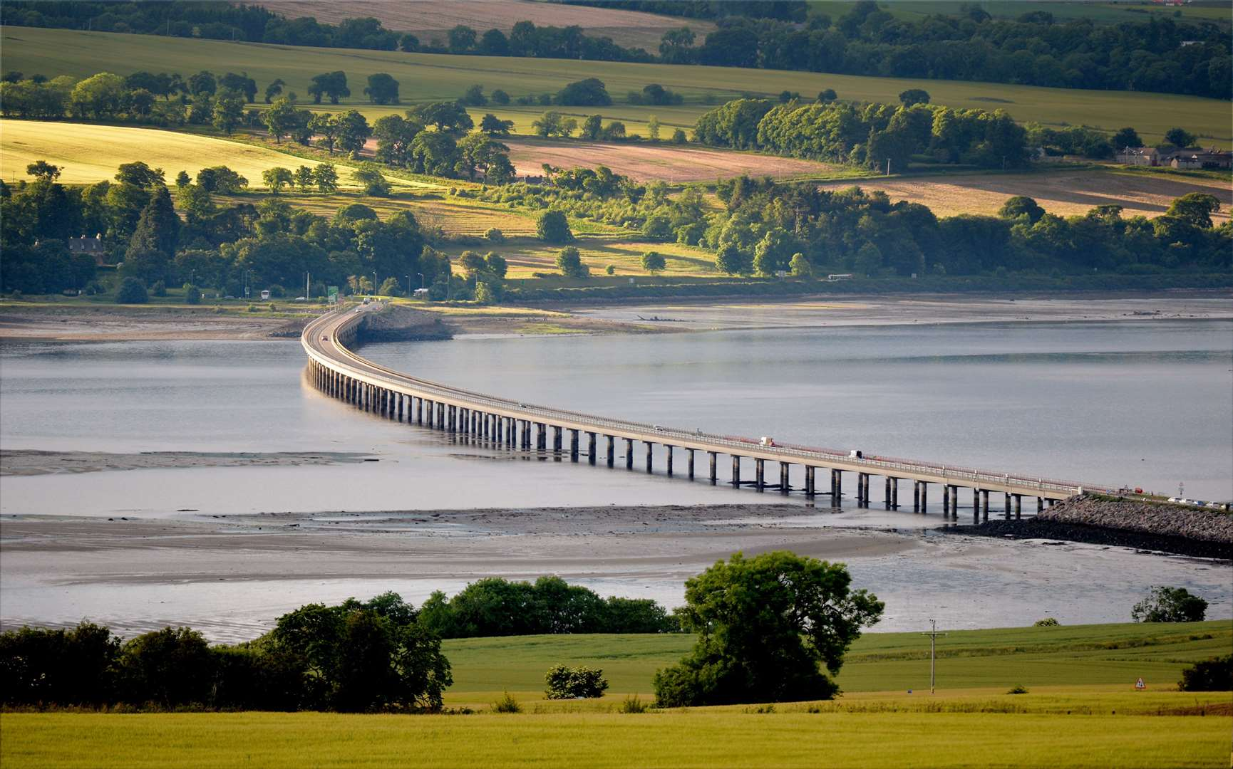 The crash is understood to have happened to the south of the Cromarty Bridge (stock image).