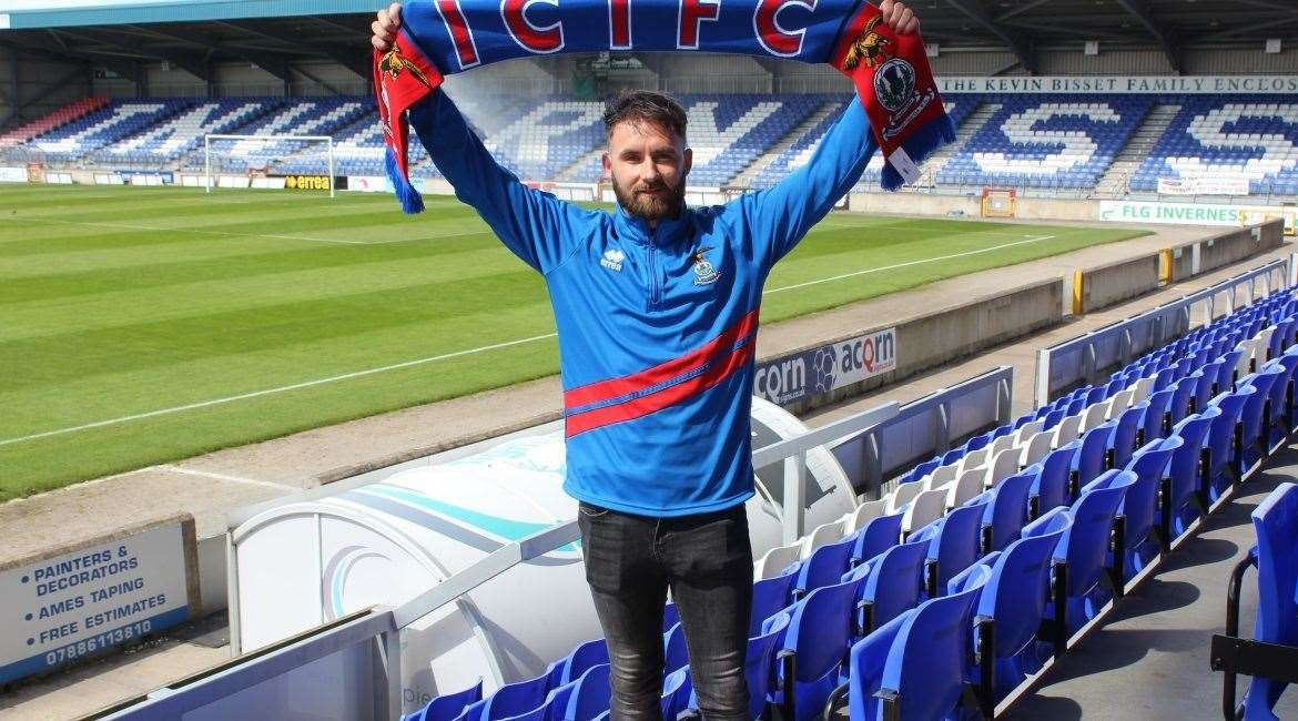 James Keatings has signed a pre-contract deal at Inverness Caledonian Thistle.