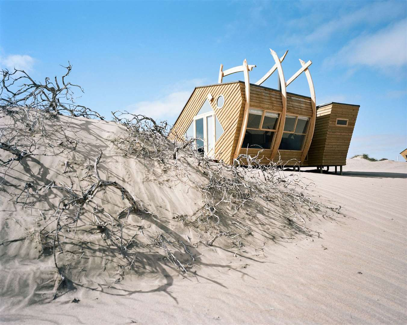 Shipwreck Lodge in the Skeleton Coast National Park in Namibia. Picture: PA Photo/Michael Turek