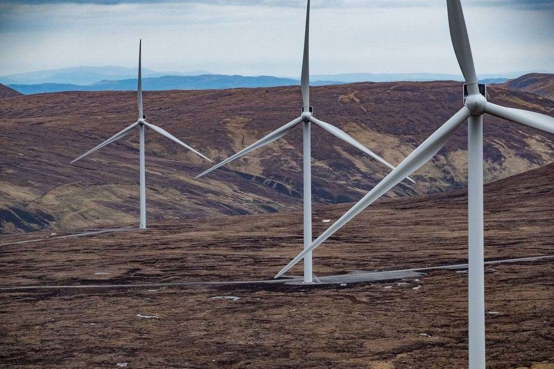SSE has applied for planning permission for a new wind farm near Fort Augustus.