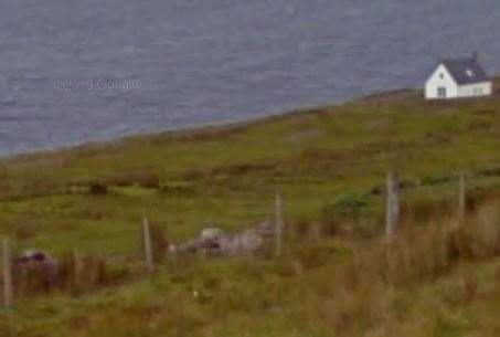 The cottage in Ross-shire where Boris Johnson is said to be holidaying: Picture: Google Street View.