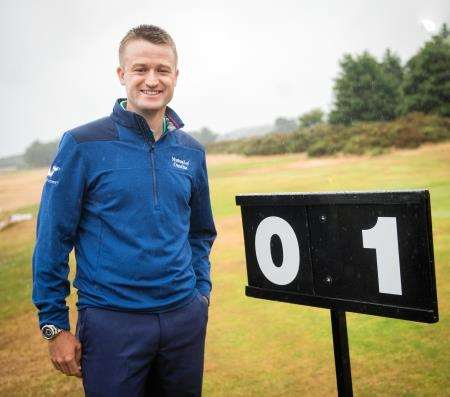Russell Knox competes at the Scottish Open this week. Picture: Callum Mackay. Image No. 041612