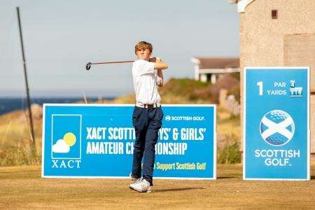 Calum Scott will be representing Scotland at the Boys' Home International which is being played at Royal Dornoch next week.