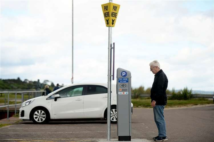 Parking meters have been installed in Nairn and Torvean, but the choice of whether or not to pay is up to you.