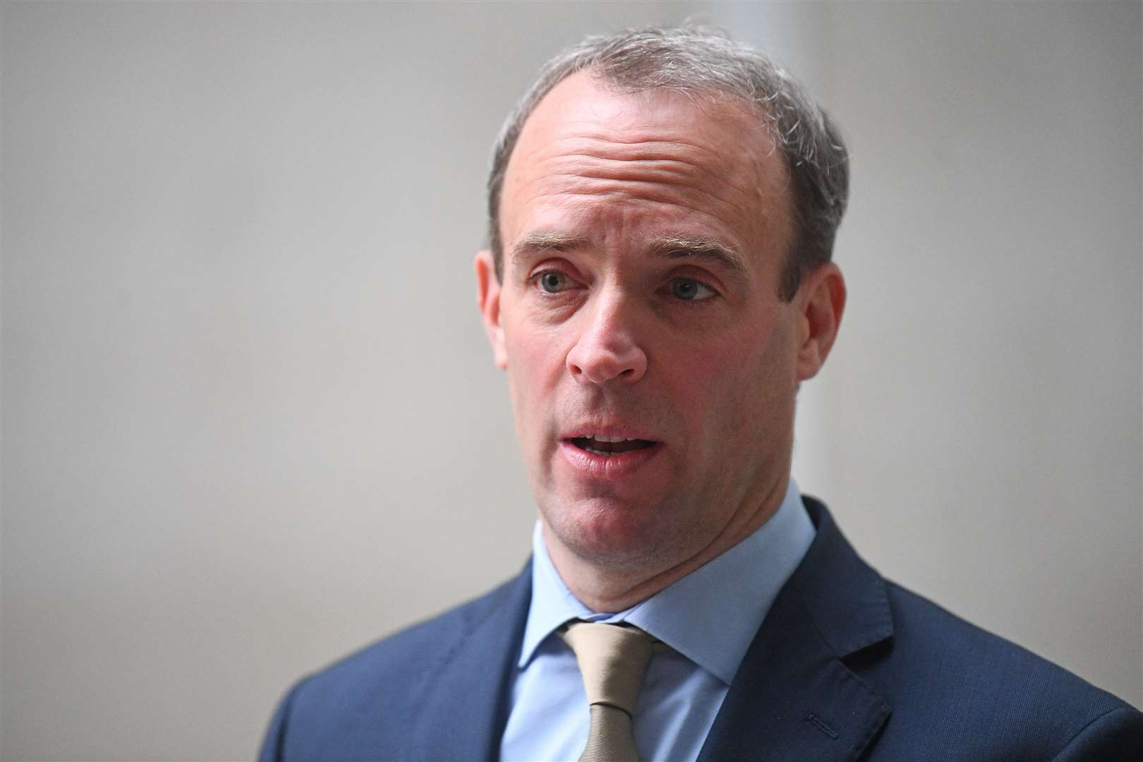 Foreign Secretary Dominic Raab has been heavily criticised by the Dunn family for his handling of the case (Victoria Jones/PA)
