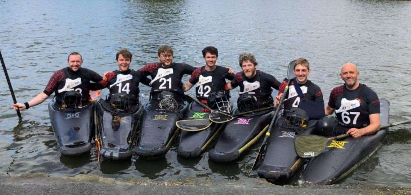 Highland Canoe Polo competed in their first international tournament in three years in Belgium.
