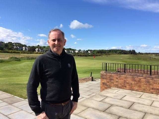 Colin Sinclair is the new chief executive at The Nairn Golf Club.