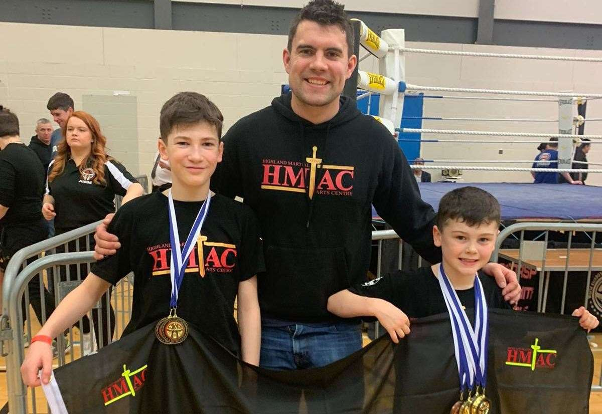 Inverness brothers become national kickboxing champions