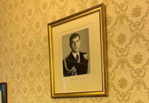 Prince Andrew picture removed by Provost