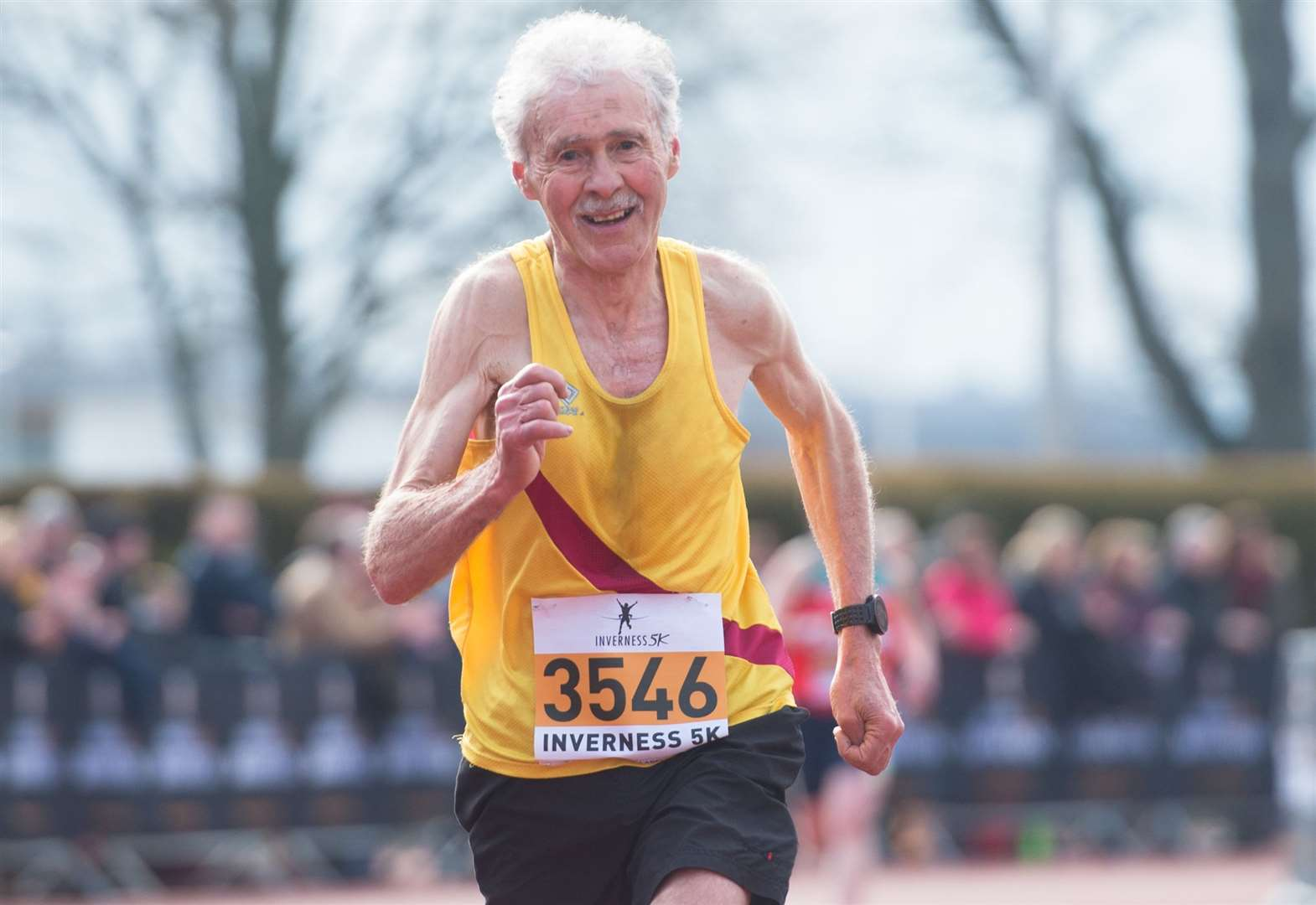 Silver service from Inverness Harrier at the British and Irish Veterans Cross County Championships