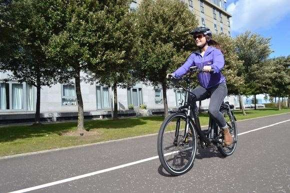 Hitrans hopes more people travel by bike in Inverness.