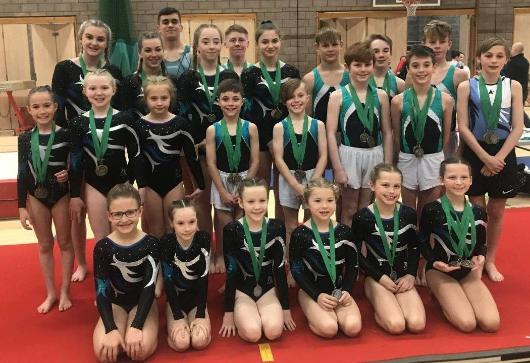 Inverness gymnasts impress across the country