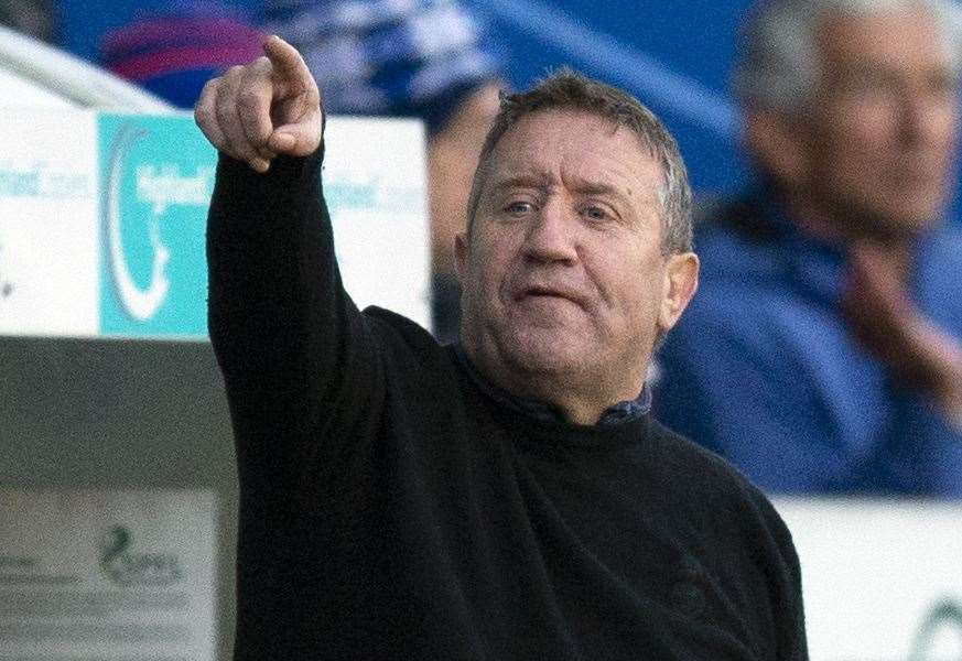 No more Mr nice guys at Caley Thistle demands boss