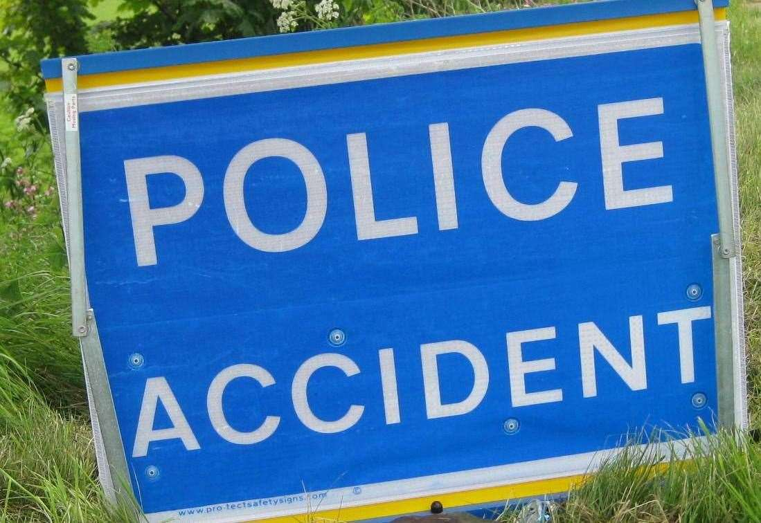 Fuel tanker driver taken to hospital and Highland road closed following one-vehicle crash