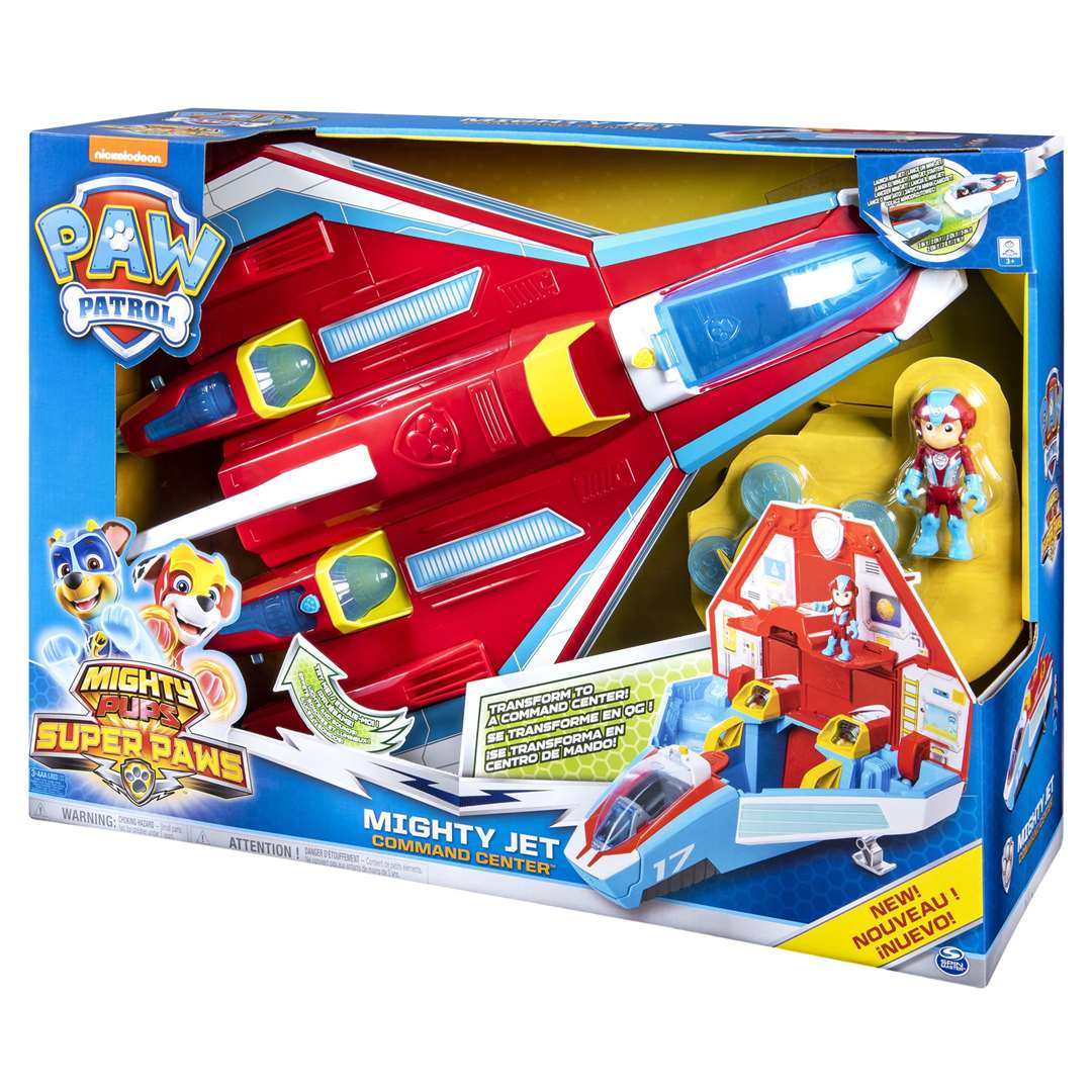 PAW Patrol Mighty Pups Super PAWs Mighty Jet Command Centre (Spin Master Toys), £59.99