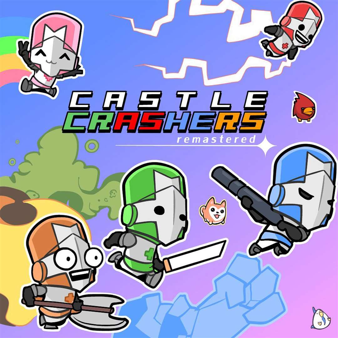 Castle Crashers Remastered. Picture: Handout/PA