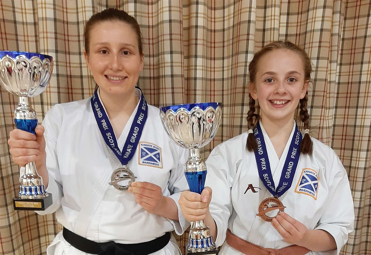 Inverness karate duo are Scottish champions - Inverness Courier